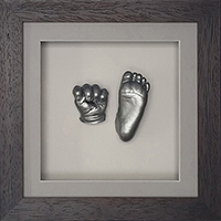 Silver 6 week old casts in a Classic chocolate frame