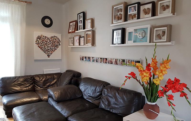Opt13 8x8 square frame 2 feet everlasting castings for 8x8 living room