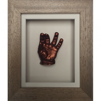 Classic 6x5'' Single Oak Frame