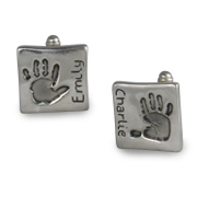 Chunky Footprint Cufflinks - Different Prints