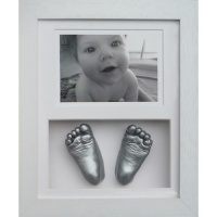 Classic 10x8'' Double Photo Frame Baby Casting Kit