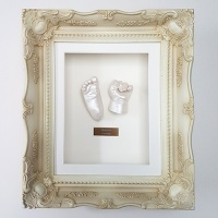 Luxury Vintage 10x8'' Single Cream Frame