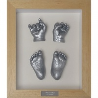 Contemporary 10x8'' Single Frame Baby Casting Kit