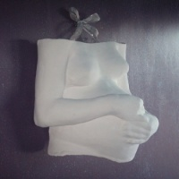Smooth White Belly Cast Decorating Pack (only)