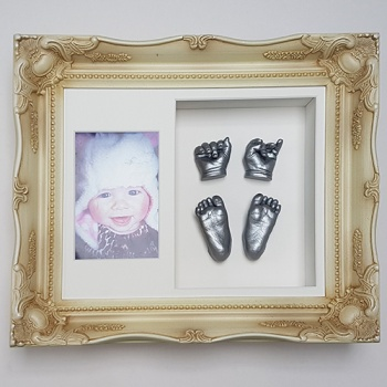 Luxury Vintage 12x10'' Double Cream Frame