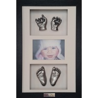 3D Baby Casts - With Frames