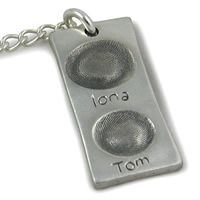 Fingerprint Key Rings