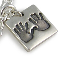 Hand/Footprint Bracelet Charms