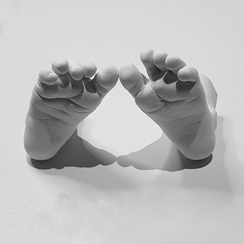 Come and learn how to make casts as beautiful as these on our Baby Casting Training course.