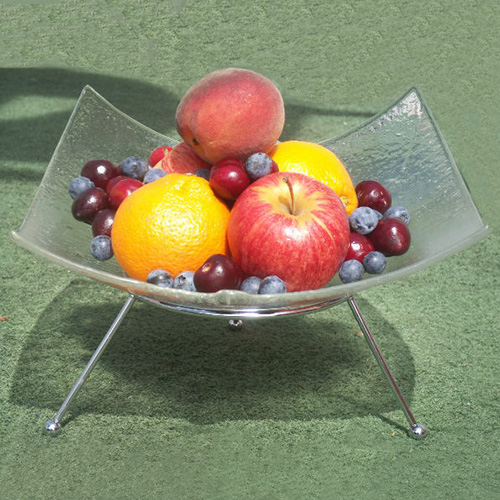 Belly cast fruit bowl
