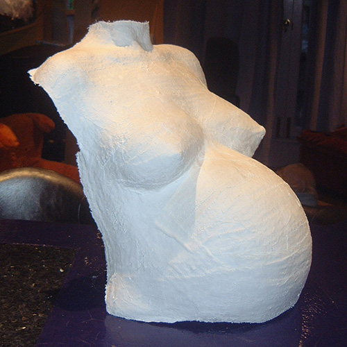 Belly cast with neck