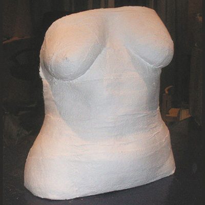 Female adult body cast