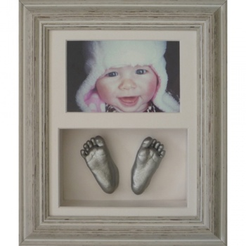 Deep 10x8'' Double Photo Frame Baby Casting Kit