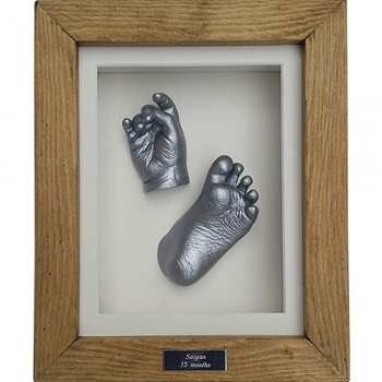 Deep 10x8'' Single Cottage Oak Frame