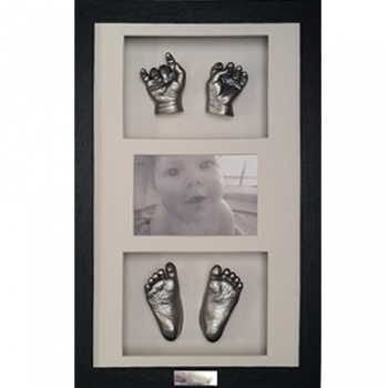 OPT22 - 16x10'' Triple Photo Frame - 2 Hands & 2 Feet - About £175-£210