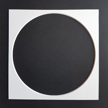 8x8'' Square Circular Cut-out Mount