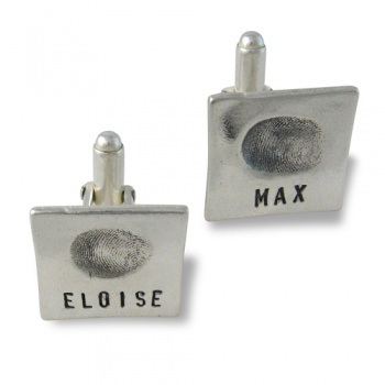 Classic Fingerprint Cufflinks