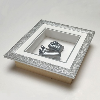 Special Glitter 8x8'' Square Frame 4 Cast Baby Casting Kit