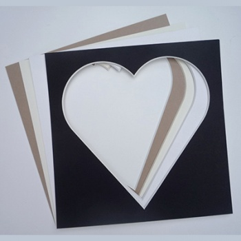 8x8'' Square Heart Mount
