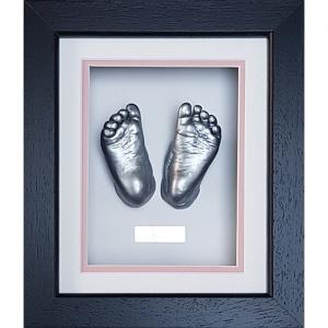 Luxury Hardwood 10x8'' Single Frame Baby Casting Kit