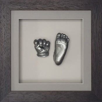 OPT15 - 8x8'' Square Frame - 1 Hand & 1 Foot - About £110-£130