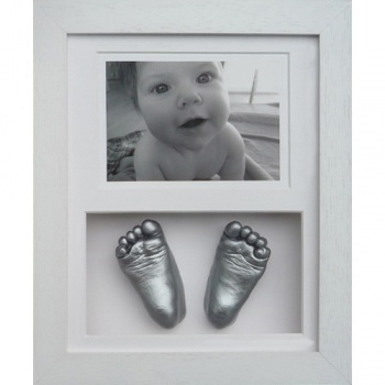 OPT16 - 10x8'' Double Photo Frame - 2 Feet - About £100-£130
