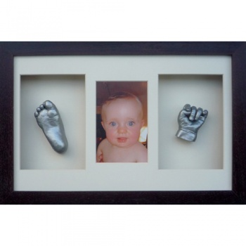 OPT21 - 16x10'' Triple Photo Frame - 1 Hand & 1 Foot - About £125-£145