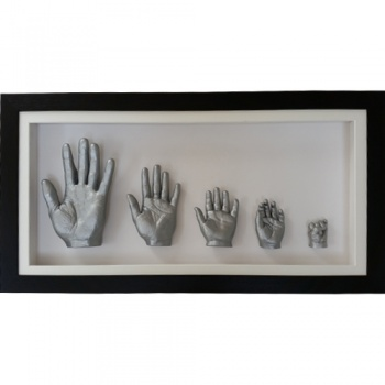 Deep 26x13'' Black Family Frame