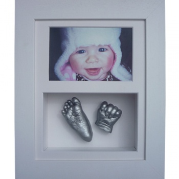 Deep 10x8'' Double White Frame
