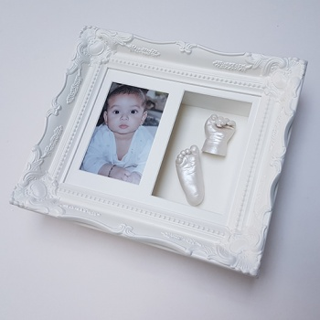 Luxury Vintage 10x8'' Double Ivory Frame