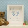 Medium Button Hand/Footprints Frame - 1 Child