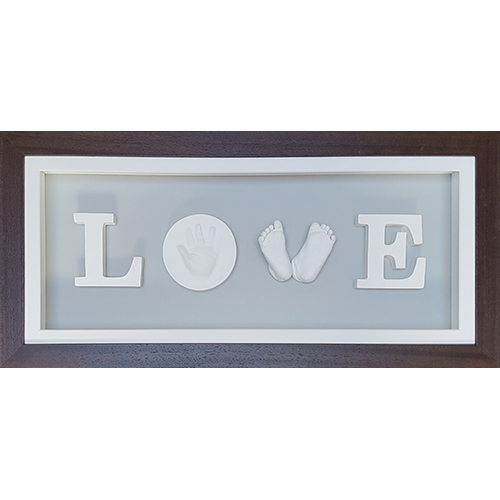 Deep 26x11'' Chocolate LOVE Frame (with pine box)