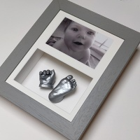 Deep 10x8'' Double Grey Frame