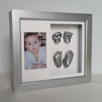OPT40 - 12x10'' Double Photo Frame - 2 Hands & 2 Feet - About £180-£240