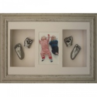 Deep 16x10'' Triple Distressed Waterfall Frame
