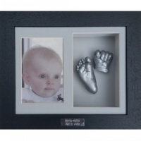 Deep 10x8'' Double Black Frame