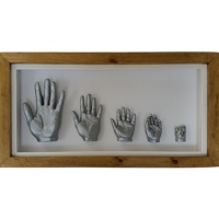 Deep 26x13'' Cottage Oak Family Frame