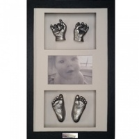 OPT22 - 16x10'' Triple Photo Frame - 2 Hands & 2 Feet - About £180-£250