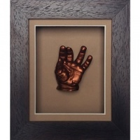 Classic 6x5'' Single Chocolate Frame