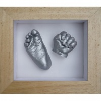 Contemporary 6x5'' Frame Baby Casting Kit