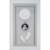 Deep 18x10'' Single White Frame