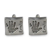 Chunky Footprint Cufflinks -  Same Prints