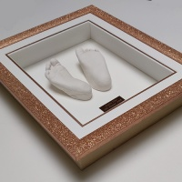 Glitter 12x10'' Single Rose Gold Frame