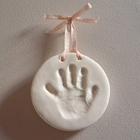 Hand/Footprint Baby Clay Impression Kit