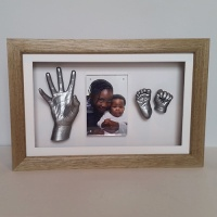 Luxury Hardwood 16x10'' Single Oak Frame