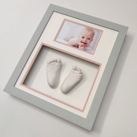 Classic 12x10'' Double Grey Frame
