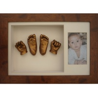 Deep 16x10'' Double Frame Baby Casting Kit