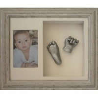 Deep 12x10'' Double Photo Frame Baby Casting Kit