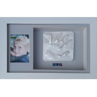 Deep 16x10'' Double White Frame