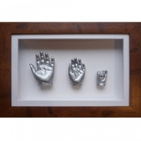 Deep 16x10'' Single Frame Baby Casting Kit